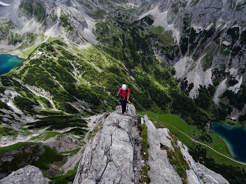 Klettersteig Coburger Hütte : Naturfreunde bezirk münchen e v klettersteig tajakante« auf